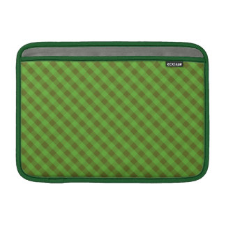 Country-style Green Gingham MacBook Air Sleeve