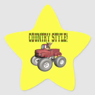 Country Style Sticker