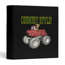 Country Style Vinyl Binder