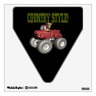 Country Style Wall Sticker