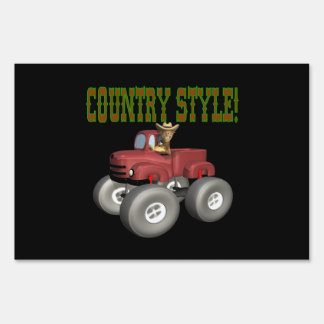 Country Style Signs