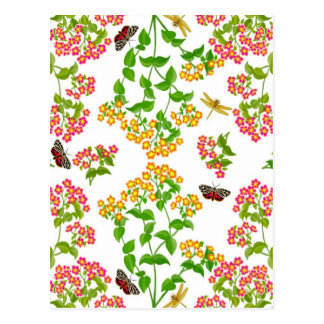 Country Summer Floral Greeting Card