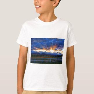 Country Sunbeam Ray Sunset T-Shirt