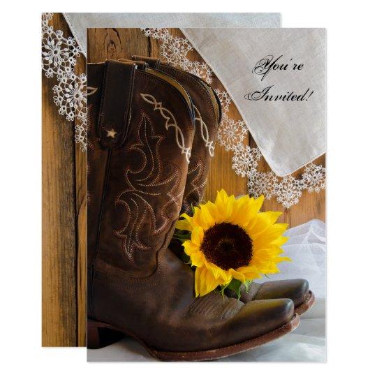da223783b4 Country Sunflower Quinceanera Party Invitation