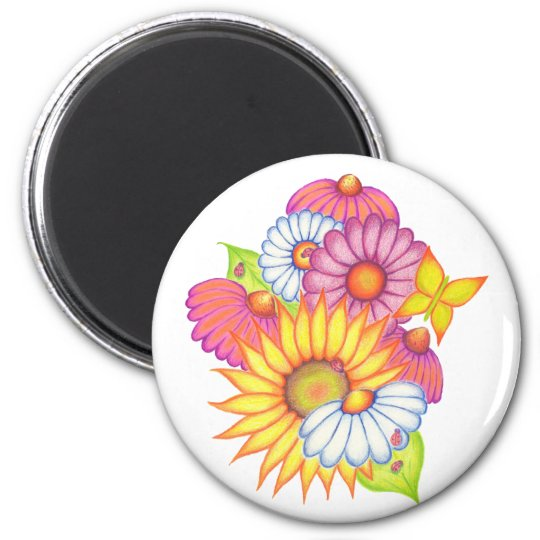 Country Sunflowers Magnet