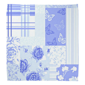 Country Sweet Cornflower Blue Bandana