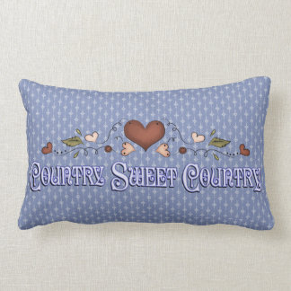 Country Sweet Country designer Neck Comfort Throw Pillow