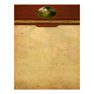 Country - The crops almost ready Custom Letterhead