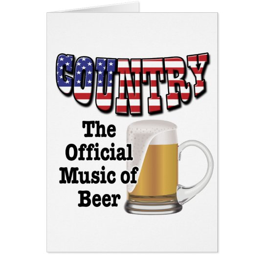 Country: The Official Music of Beer Card