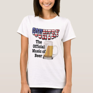 Country: The Official Music of Beer T-Shirt