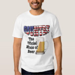 Country: The Official Music of Beer T Shirts