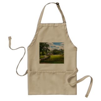 Country - The pasture Adult Apron