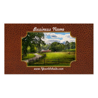 Country - The pasture Double-Sided Standard Business Cards (Pack Of 100)
