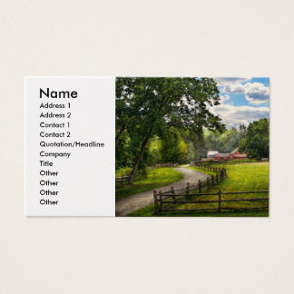 Country - The pasture Business Card
