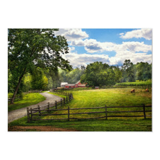 Country - The pasture Card