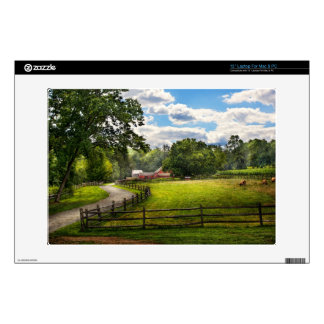 Country - The pasture Decals For Laptops