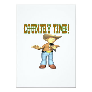 Country Time Card