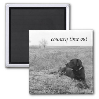 Country Time Out Magnet