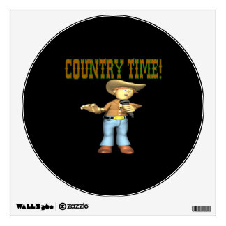 Country Time Room Decal