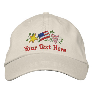 Country USA - Customize Baseball Cap