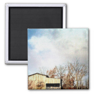 COUNTRY VIEW 2 INCH SQUARE MAGNET