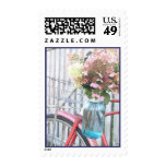 Country Vintage Postage Stamp
