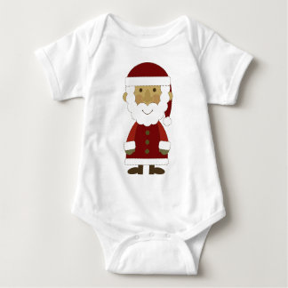 Country Vintage Santa Claus Infant Creeper