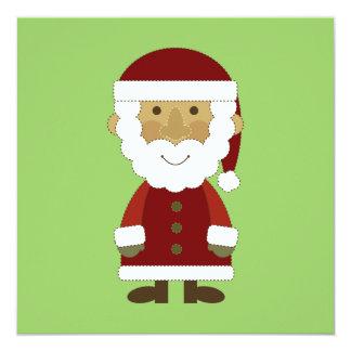 Country Vintage Santa Claus Invitation