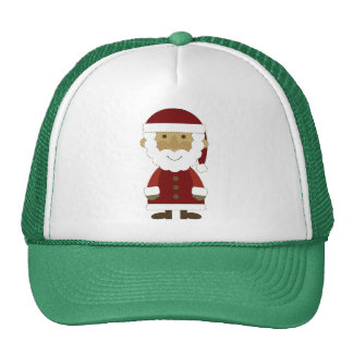 Country Vintage Santa Claus Trucker Hat