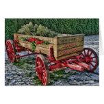 Country Wagon Christmas Card