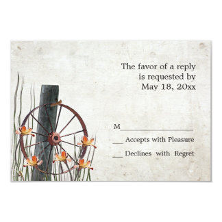 Country Wagon Wheel  -  RSVP Cards