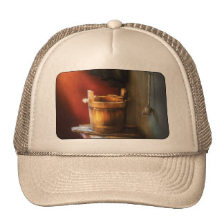 Country - Water pail and ladel Trucker Hat