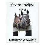 Country Wedding Custom Invite
