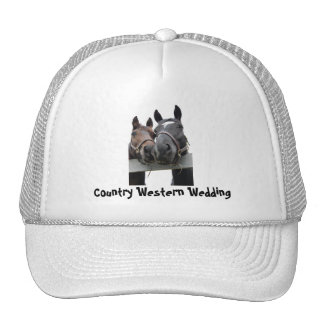 Country Wedding Trucker Hat
