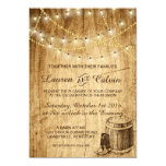 Country wedding invitation with Cowboy boots