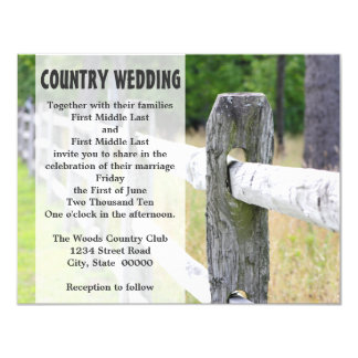 Country Wedding Invitations