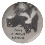 Country Wedding Plates