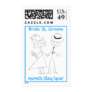 Country Wedding Postage