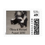 Country Wedding Postage Stamps