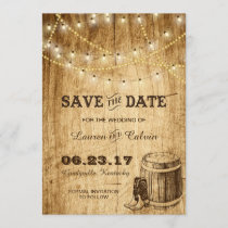 Country wedding Save the Date