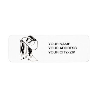 COUNTRY WESTERN ADDRESS LABELS