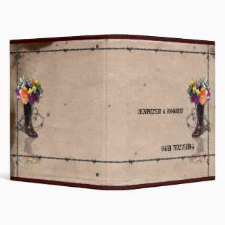 Country Western Barbed Wire Binder