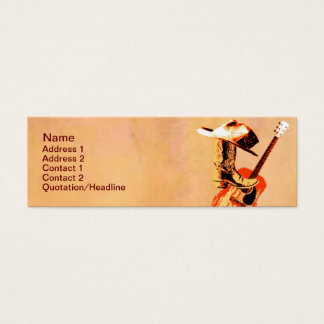 Country Western Business Card