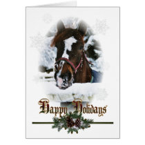 Country Western Christmas Holiday Cards