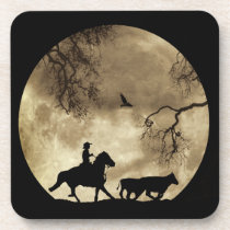 Country Western Cowboy Coasters