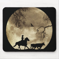 Country Western Cowboy Mouse Pad