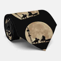 Country Western Cowboy Neck Tie