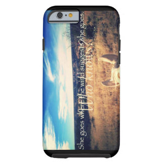 Country Western Cowgirl Horse iPhone 6/6s Case