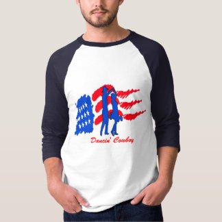 COUNTRY WESTERN DANCING COUPLE T-SHIRT