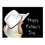 Country Western Fathers Day card